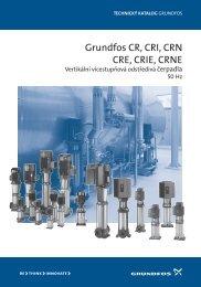 Grundfos CR, CRI, CRN CRE, CRIE, CRNE - Marcomplet