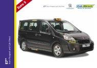 Peugeot E7 Taxi - Cab Direct