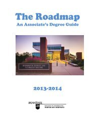 2013-2014 Associate Degree Roadmap - College of Information ...