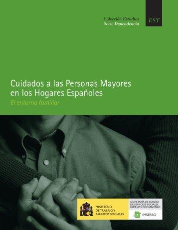 Cuidados a las Personas Mayores en los Hogares Españoles (26 ...