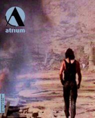 Atrium nr.4 2001 - Atrium - Universitetet i Bergen