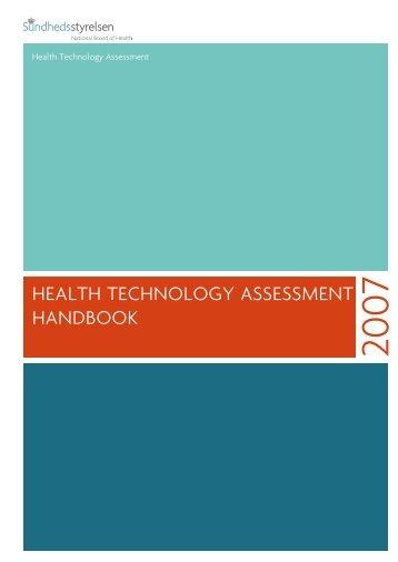HealtH tecHnology assessment Handbook - Sundhedsstyrelsen
