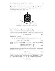 1.5 Střed, singulární body kvadriky
