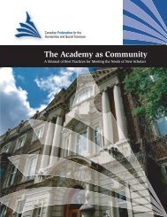 The Academy as Community