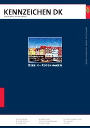 Berlin – Kopenhagen KENNZEICHEN DK - Tyskland, Berlin