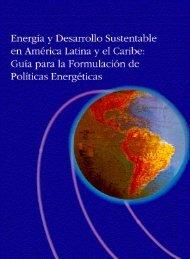 energia y desarrollo sustentable en america latina y el caribe