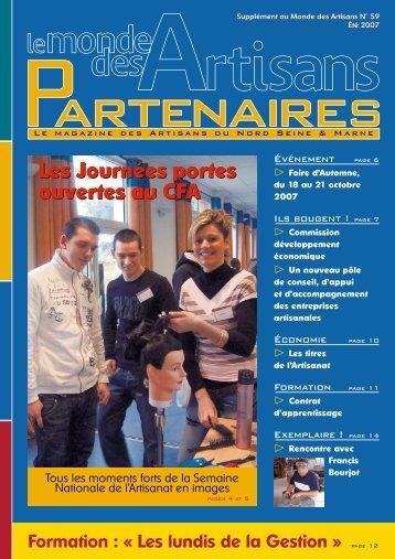 Les Journées portes ouvertes au CFA Les Journées portes ouvertes ...