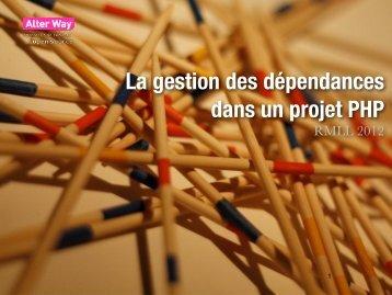 La gestion des dépendances dans un projet PHP