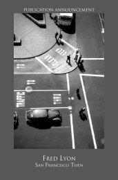 Fred Lyon - Modernbook Gallery