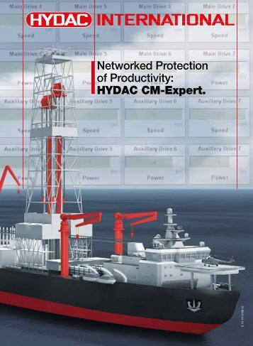 Networked Protection of Productivity: HYDAC CM-Expert.