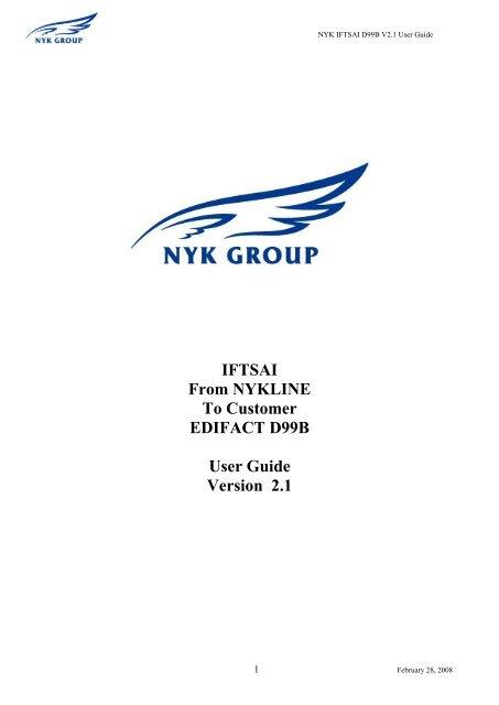 NYK IFTSAI D99B A4 - NYK Line