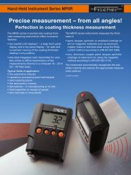 Precise measurement - Labsys