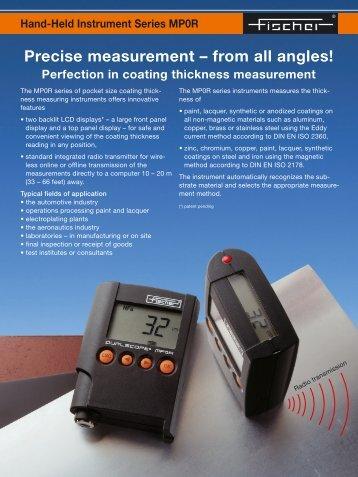 Precise measurement - Labsys