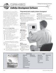 CoDeSys Development Software - Ormec