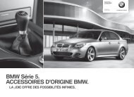 E60 CHfr Titel.indd - BMW bagages, pliants. Pour la Série 5 Touring ...