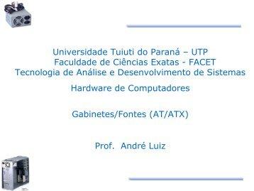 Gabinetes - Gerds - Universidade Tuiuti do Paraná