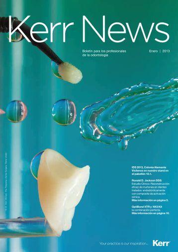 Boletín para los profesionales Enero | 2013 de la odontología - Kerr