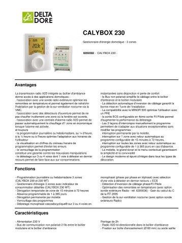 CALYBOX 230 - E-electrique