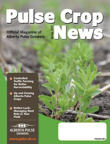 Pulse Crop News - Alberta Pulse Growers