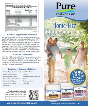 from Zn Lactate - Pure Essence Labs