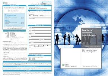 Taxation of Permanent Establishments