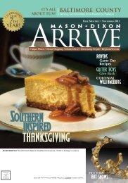 BALTIMORE COUNTY YEAR! - Mason Dixon Arrive Magazine