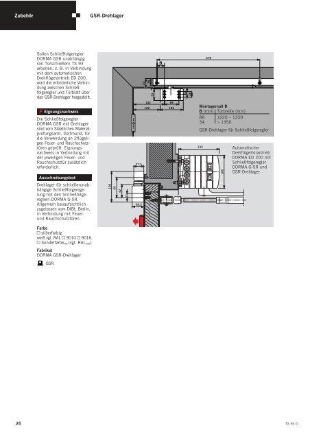 Elektromechanische Feststellung, Montage auf ... - Protect - O firmie