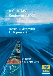 UIC ERTMS Conference 2006