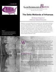 The Delta Wetlands of Arkansas - RGIS - Mid-South Site - University ...