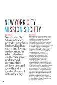 2009 ANNUAL REPORT - New York City Mission Society - Page 2