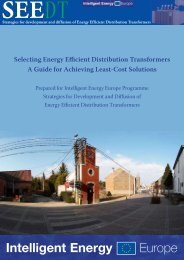 Selecting Energy Efficient Distribution Transformers - Copper ...