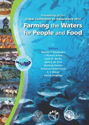 Sustaining aquaculture by developing human capacity and ...