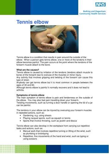 tennis elbow exercises nhs pdf