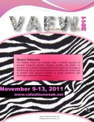 Mission Statement - VA Fashion Week 2012