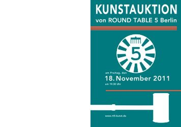 Auktionskatalog - Round Table SchmetterlingsKIDS