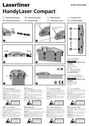 Laserliner HandyLaser Compact - Spot-on.net