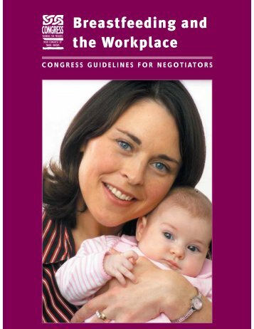 Breastfeeding and the Workplace - Irish Congress of Trade Unions