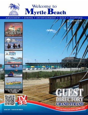 Myrtle Beach North - Myrtle Beach Visitors Guide