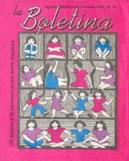 La Boletina # 14 - Sidoc