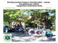 Dviračių turizmo trasos ir dviračių takai – geriausias saugomų ...