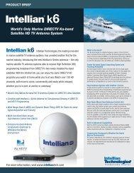 World's Only Marine DIRECTV Ka-band Satellite HD TV ... - Intellian