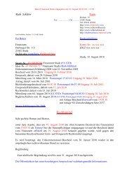 19. Aug. 2010 Rechts-M - Der Imperator/ Finanzamt Stade