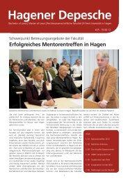 Hagener Depesche Nr. 25 - FernUniversität in Hagen