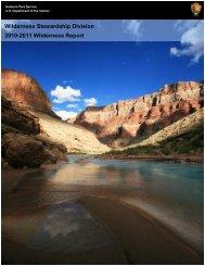 Wilderness Stewardship Division 2010-2011 ... - Wilderness.net