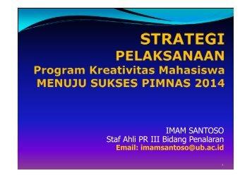 Suskes-Pelaksanaan-PKM-2014-Imam-Santoso