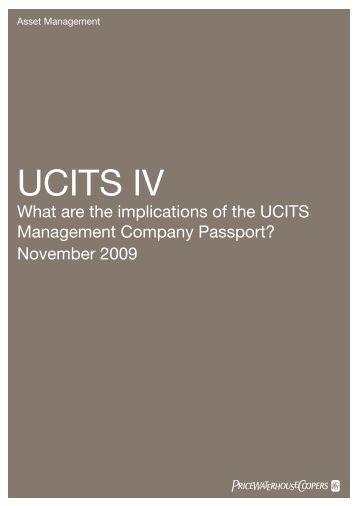 UCITS IV - Fund Academy, Aus