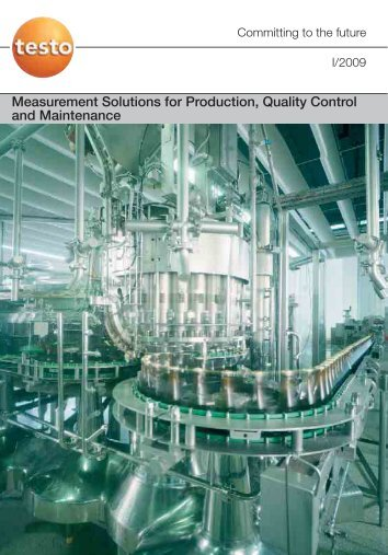 Measurement Solutions for Production, Quality Control and ...