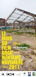 en limousin - Le Mois du Film Documentaire