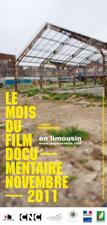 en limousin - Le Mois du Film Documentaire