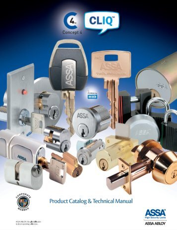 Download ASSA Product Catalog & Technical Manual